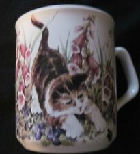 Cat Kitten Mug Crownford Giftware Kitty Lover's Cup Made in Tams England
