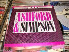 "ASHFORD & SIMPSON- SOLID VINYL 7"" 45RPM PS"