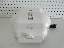 George Foreman Lean Mean Fat Grilling Machine Indoor Grill - Model GR10WHT