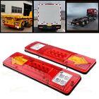 19 LED 2X Trailer Truck UTV RV Integrated Brake Reverse Turn Signal Tail Light