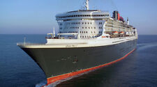 """Queen Mary 2 Cruise Ship - 42"""" x 24"""" LARGE WALL POSTER PRINT NEW."""