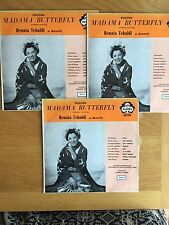 **PUCCINI MADAME BUTTERFLY**3 x LP~DECCA ACE OF CLUBS~AUSTRALIA IMPORT (EX / NM)