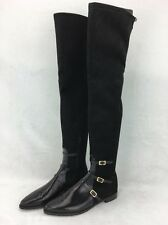 Stuart Weitzman Black Noire Ultrastretch Over Knee Boot Size 9M  RH10937*