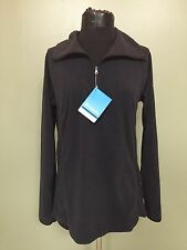 Columbia Women's 1/4 Zip Pullover Jacket - Size Medium - Black - Brand New, NWT