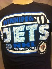 Winnipeg Jets T Shirt NWT NHL Mens Large & XL New FREE SHIPPING!!