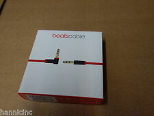 SEALED RETAIL BOX * Beats By Dr. Dre 3.5MM (B0522) Audio Cable (Red) MHE12G/A
