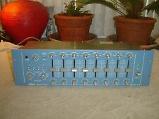 Orban 672A, 8 Band Parametric Equalizer, Eq, Broadcast, Recording, Vintage Rack