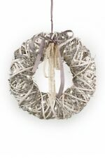 Tobs Pre-lit Vine and Willow  Wreath - Lovely Hanging Pre-lit Christmas Wreath