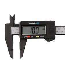 150mm/6inch LCD Digital Electronic Carbon Fiber Vernier Caliper Gauge Micromete