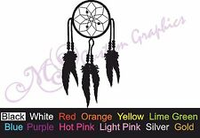 ** Dream Catcher ** Car Decal, Vinyl, Drift Sticker, Peace, Indian VW