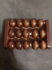 Vintage Wood 15 Ball Foot Roller Massager