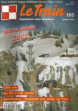 LE TRAIN N°165 AGV / TER Z 21500 ALSTOM / L'OBSIDIENNE POUR WAGONS / SCIERIE