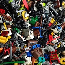 50X LEGO / Random GRAB BAG LOT Of 50 Accessories / Fifty / Weapons / Tools /
