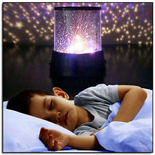 Kids Bedroom Night Starry Lamp Master Projector Sky Star Laser Night Light Gift