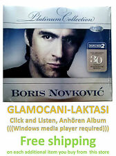 2CD BORIS NOVKOVIC  the platinum collection Digipak zabavna pop muzika glazba