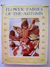 1930's Rare Enchanting Book Flower Fairies of the Autumn by Cicely Mary Barker *
