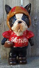 Folk Art  Boston Terrier Dog Doll Football Player Boston CUSTOM ORDER
