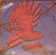 "Shakatak, Night Birdsl, VG/EX 7"" Single 0691"