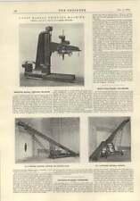 1914 portatile impilabile nastri trasportatori Kendall GENTILUOMO Manchester radiale Perforatrice