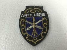 ECUSSON  - BRODE EMBROIDERED PATCH ARTILLERIE