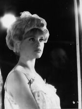 Photo originale Brigitte Bardot bride bigoudis portrait