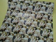 Half ream 26 inch wide porcelain dolls gift wrap 417 feet