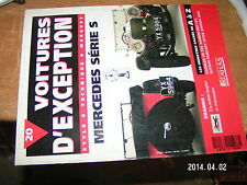 Voitures d'exception n°20 avec poster 4 page Mercedes serie S / Sbarro Datsun