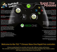 Xbox One Rapid Fire Billet Pouces Manette 100+ Modes COD Advanced Warfare BF4