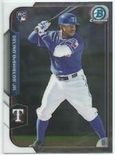 Delino DeShields Texas Rangers 2015 Bowman Chrome Rookie Card *