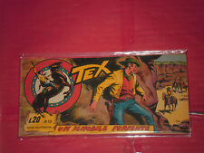 TEX STRISCIA ORIGINALE n° 10 -del 1957-14° SERIE california  -no araldo o zagor