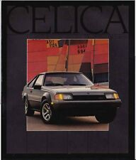 1983 TOYOTA SA63 CELICA Very Large Format US Brochure