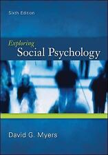 Exploring Social Psychology by David G. Myers (2011, Paperback)