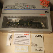 "Märklin H0 3756 E-Lok Serie Be 6/8 ""Krokodil"" der SBB Digital Neu in OVP"