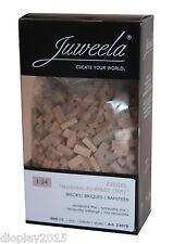 Juweela® 1:24 Ziegelsteine 800 Stk. Terrakotta Mix Modellbau Diorama, 22075