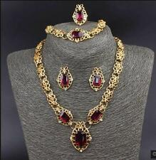 NECKLACE, EARRING, RING & BRACELET SET - GOLD PLATED - FREE P&P.............0273