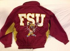 VTG 90s Florida State Seminoles Windbreaker Jacket Looney Tunes Taz FBI Mens 2XL