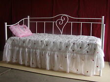 Maria King Single Size Metal Day Bed-Aussie Made