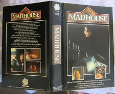 PRE CERT MADHOUSE MEDUSA BIG BOX VHS PAL DPP39 VIDEO NASTY