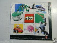 LEGO BROCHURE FLYER CATALOG TOYS 2004 DUTCH 32 PAGES 002