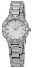 DKNY NY8485 Chambers Silver Dial Stainless Steel Women's Watch