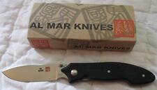 NEW Al Mar Nomad Tactical Folder Satin Blade ND-2 Liner Lock Folding Knife JAPAN