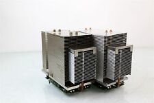 Two Apple Heatsinks + 2GHz PowerPC 970fx Processors for Power Mac G5 A1047