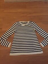 ASOS PETITE White & Navy UK:2 BNWT