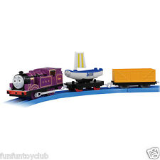 TOMY TRACKMASTER TS-14 MOTORIZED TRAIN RYAN & SKIFF