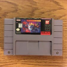 Mighty Morphin Power Rangers The Fighting Edition (Super Nintendo, 1995) SNES
