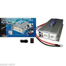 Convertisseur De Tension 12v/220v 1500w-3000w En Pointe