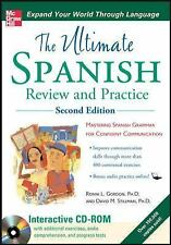 NEW - Ultimate Spanish Review and Practice with CD-ROM, Second Edition