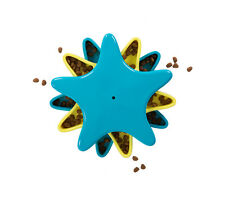 Outward Hound DOG GAMES Treat and Food Dispensing Puzzle Toy STAR SPINNER