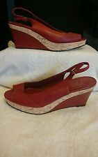 Bhs Women's Leather Wedges size 6 / 39 Worn once