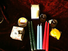 JOB LOT CANDLES SCENTED UNSCENTED PILLAR DINNER TEA  LIGHT PAGAN OCCULT